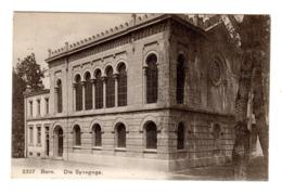 Rare Carte Postale Synagoge, Bern, Suisse, Schweiz, Envoyée 1909 - Jewish