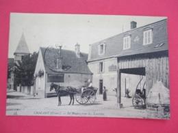 CROZANT - Le Rendez Vous Des Touristes Hotel Lépinat - Belle Animation Attelage En Gros Plan -  Voyagée En 1912 - TBE - France