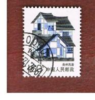 CINA  (CHINA) - SG 3448b   - 1989   TRADITIONAL HOUSES: GUIZHOU  -  USED - Usati