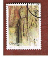 CINA  (CHINA) - SG 3866   - 1993 LONGMEN GROTTOES: BEIWEI DINASTY  -  USED - Usati