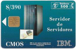 Spain - Telefónica - I.b.m S390 Cmos - P-132 - 05.1995, 5.000ex, Used - España