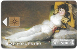 Spain - Telefónica - Museo Del Prado - La Maja Vestida - P-147 - 09.1995, 9.100ex, Used - España