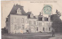 37 LUZE. CPA . RARETÉ. ANIMATION CHASSEUR DEVANT LE CHÂTEAU DU FRANC PALAIS . ANNEE 1906 + TEXTE - Otros Municipios