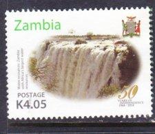 ZAMBIA, USED STAMP, OBLITERÉ, SELLO USADO. - Zambie (1965-...)