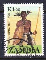 ZAMBIA, USED STAMP, OBLITERÉ, SELLO USADO. - Zambia (1965-...)