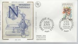 FDC - 1er Jour IMPRIMERIE NATIONALE - 13 Avril 1991 - PARIS - FDC