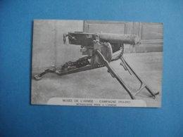 PARIS  -  75  -  Musée De L'Armée  -  Mitrailleuse Prise à L'ennemi  -  ARMEMENT  -  Guerre 1914 - 1918 - Material