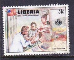 LIBERIA, USED STAMP, OBLITERÉ, SELLO USADO. - Namibia (1990- ...)