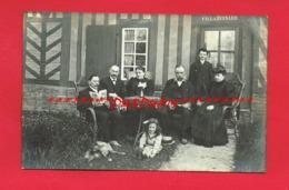 A Identifier Rare Photo* Genre Carte Photo  Villa BERNARD Calvados ? Ou Autres ... - A Identifier