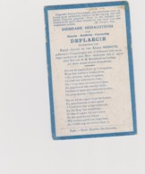 DOODSPRENTJE DEPLAECIE MARIA DOCHTER VAN EMIEL EN DEBOONE VLAMERTINGE (1906 - 1910) - Imágenes Religiosas