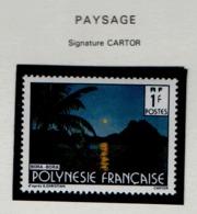 W31  Polynésie °° 1991 373A Paysage - Unused Stamps
