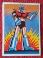 SPAIN ANTIGUO CROMO RARE OLD COLLECTIBLE CARD 1981 MAZINGER Z ANIME MANGA JAPÓN JAPAN NIPPON FESTIVAL  ROBOT VER FOTOS - Cromos