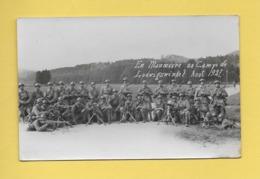 * CPA Photo..Allemagne..LUDWIGSWINKEL : Manoeuvre Au Camp En Août En 1927  : Voir Les 2 Scans - Germany