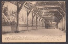 104647/ IEPER, Les Halles, Carte D'honneur Des écoles Communales De Theux - Ieper