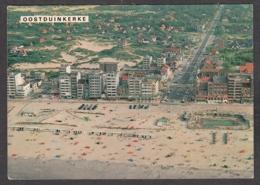 104656/ KOKSIJDE, Oostduinkerke, Strand En Zeedijk, Luchtfoto - Koksijde