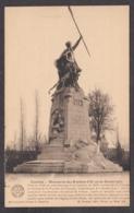 104658/ KORTRIJK, Monument Des Eperons D'Or, Carte D'honneur Des écoles Communales De Theux - Kortrijk