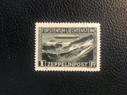 FL Flugpost 1931 Zumstein-Nr. 7 Gestempelt - Poste Aérienne
