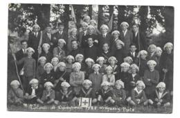 14/ CALVADOS.. Carte Postale Photo.Colonie De DAMPIERRE En 1925...Photo W. VAUSSY - Autres Communes