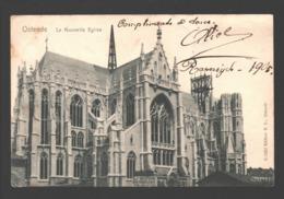 Oostende / Ostende - La Nouvelle Eglise - 1905 - Enkele Rug - Oostende