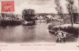 PA 86 Selles Sur Cher, Le Bourgeau Vue Prise Du Quai - Selles Sur Cher