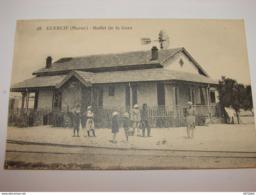 C.P.A.-  Afrique - Maroc - Guercif - Buffet De La Gare - 1927 - SPL (K14) - Maroc