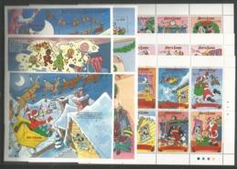 9 Pcs SIERRA LEONE - MNH - Disney - Disney