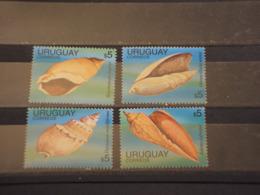 URUGUAY - 1995 CONCHIGLIE 4 VALORI - NUOVI(++) - Uruguay