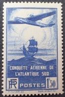 R1615/1065 - 1936 - CONQUÊTE AERIENNE DE L'ATLANTIQUE SUD - N°320 NEUF* (quasi NEUF**) - France