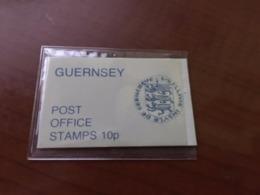 Guernsey Booklet 10p Mnh 4v. 1978 Mnh - Guernsey