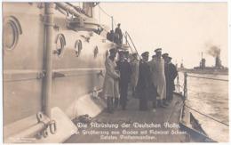 Kaiser Wilhelm II MARINE Disarmament German Navy 1918 Nach Dem Krieg Großherzog Granduke Von Baden Admiral Scheer Last M - Guerre