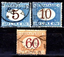 Italia-A-0606: SEGNATASSE 1870-74 (o) Used - Senza Difetti Occulti. - Paketmarken