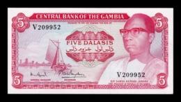 Gambia 5 Dalasis 1972-1986 Pick 5d Sign 7 SC- AUNC - Gambia