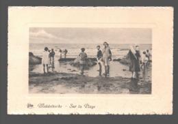 Middelkerke - Sur La Plage - Kinderen / Enfants - 1949 - Gewafeld - Middelkerke