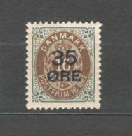 Denmark - 1912 Mino 60 I MLH* - Nuovi