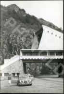 50s ORIGINAL AMATEUR PHOTO FOTO JAGUAR MK II AX LES THERMES FRANCE - Plaatsen