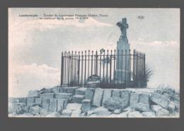 Lombartsijde / Lombartzijde - Tombe Du Lieutenant Français Hubert Thoret En Souvenir De La Guerre 1914-1918 - Tax - Middelkerke