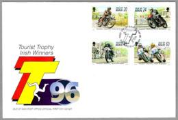 TOURIST TROPHY - IRISH WINNERS. Motociclismo - Motorcycling. SPD/FDC Duglas, Isle Of Man, 1996 - Motorbikes