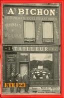 BOURGES - Magasin -BICHON - TAILLEUR DEVANTURE DE COMMERCE - 3 PLACE PLANCHAT - Vêtements Ecclésiastiques - 18 CHER - Bourges