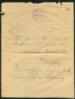 China / Hong Kong. The Chinese Telegraph Administration Telegram - Historical Documents