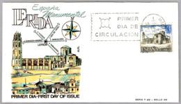 LA SEO DE LERIDA - CATEDRAL - CATHEDRAL. SPD/FDC Madrid 1966 - Iglesias Y Catedrales