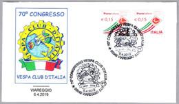 60 CONGRESO VESPA CLIB DE ITALIA - Moto. Viareggio, Lucca, 2019 - Moto
