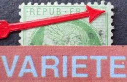 R1917/273 - CERES N°53 - LGC - BELLE VARIETE ➤➤➤ Cassure Du Filet Droit En Haut + Filet Sud D'une épaisseur Variable - 1871-1875 Ceres