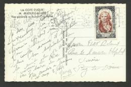 DANTON Personnage Célèbre Surtaxé / Seul / Carte Postale NICE >>> PUY DE DOME 1950 - Marcophilie (Lettres)
