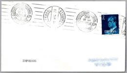 Rodillo REFERENDUM NACIONAL - DIA DE LA CONSTITUCION - 6 DE DICIEMBRE. El Ferrol, Galicia, 1978 - 1931-Hoy: 2ª República - ... Juan Carlos I