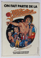 Grand Autocollant On Fait Partie De La New Generation Film Jean Pierre Lowf Legoff 1979 Lambert Wilson - Publicité Cinématographique