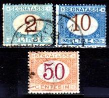 Italia-A-0608: SEGNATASSE 1870-74 (o) Used - Senza Difetti Occulti. - Paketmarken