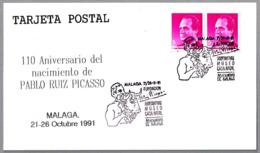 110 Años Nacimiento PABLO RUIZ PICASSO - Toro - Bull. Malaga, Andalucia, 1991 - Picasso