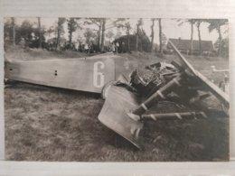 Carte Photo. Accident Du Commandant Lints à Genk. 1922 - Accidents