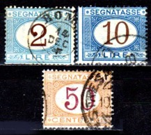 Italia-A-0609: SEGNATASSE 1870-74 (o) Used - Senza Difetti Occulti. - Paketmarken