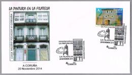 Pintura En La Filatelia - CASA MUSEO DE PICASSO. A Coruña, Galicia, 2014 - Picasso